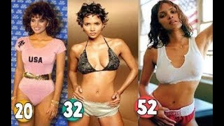 Halle Berry ♕ Transformation From 03 To 52 Years OLD