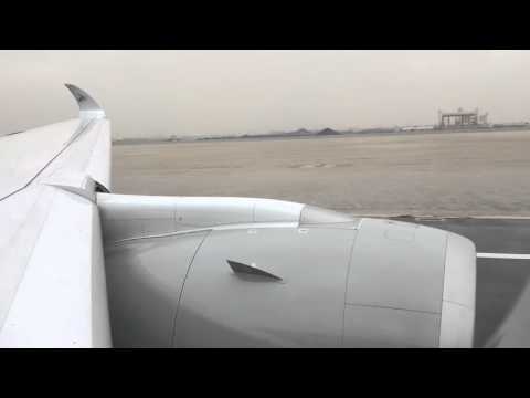 Qatar Airways A350-900 Takeoff Roll