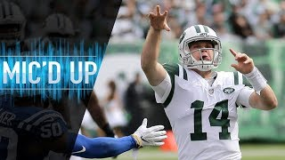 """Sam Darnold Mic'd Up vs. Colts """"Let's Put a Dagger in Their Heart""""   NFL Films"""