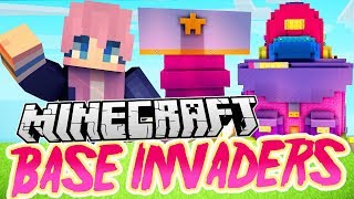 Minecraft Base Invaders Challenge [Fan Edition]