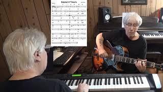 Breakfast At Tiffany's - Jazz guitar & piano cover ( Henry Mancini )