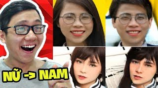 BIẾN CÁC YOUTUBER NỮ THÀNH NAM! (Queen Team, Thơ Nguyễn, Misthy, Mều Channel) (Sơn Đù Vlog Reaction)