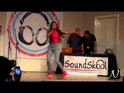Lady Leshurr's performance at SoundSkool