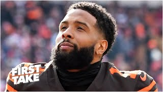 First Take reacts to Odell Beckham calling for the NFL season not to happen