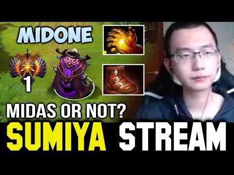 Sumiya analyze Midone & Miracle- Invoker 🤔 Sumiya Facecam Stream Moment #92