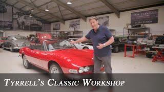 Fiat Dino Spider - the forgotten Ferrari-engined jewel | Tyrrell's Classic Workshop