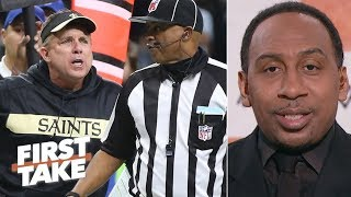 Sean Payton is most to blame for the Saints' NFC Championship Game loss – Stephen A. | First Take