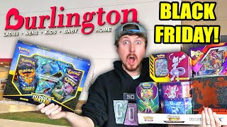 HUGE BLACK FRIDAY SHOPPING HAUL OF POKEMON CARDS! Opening $10 Target Tins and Searching For Deals