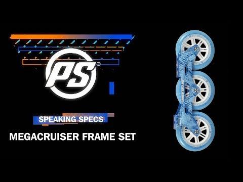 Video POWERSLIDE Platine FSK MEGACRUISER 3x125 Black