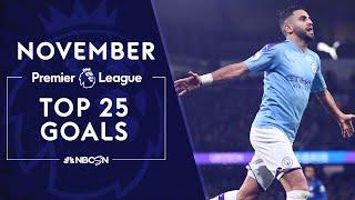Top 25 Premier League goals from November 2019 | NBC Sports