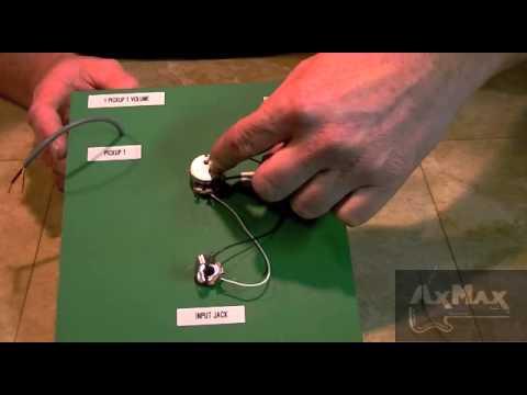 wiring electric guitar - 1 pickup 1 volume 1 input jack ... wiring diagrams for van halen guitars hyundai remote start wiring diagrams for vehicles #13