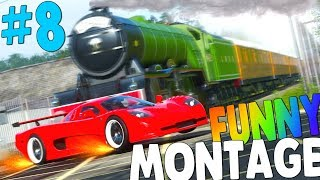 Forza Horizon 4 FUNNY MONTAGE #8