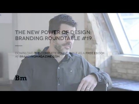The New Power of Design Branding | Roundtable 19
