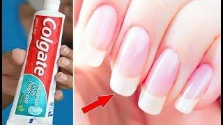 In Just 5 Minutes Grow Long Strong Beautiful Nails-Long Healthy Nails Tips Dark Secrets