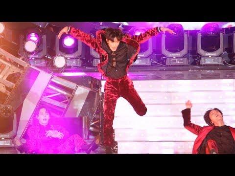 181014 NCT 127 마크(Mark) - Cherry Bomb (체리밤) [BBQ슈퍼콘] 4K 직캠 by 비몽