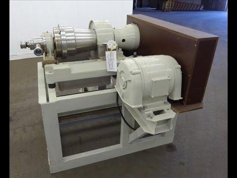 Used-Flottweg Z2L Solid Bowl Decanter Centrifuge - Stock# 45910001