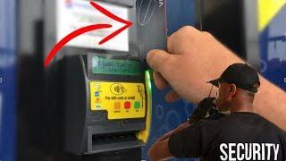 Caught Using FAKE CREDIT CARD At VENDING MACHINE!!!