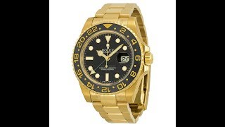 BEST ROLEX SPORTS WATCH IN GOLD - Rolex GMT Master II 116718