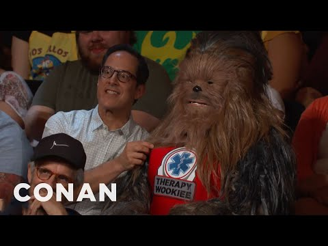 Therapy Wookiees Aren't Allowed At #ConanCon  - CONAN on TBS