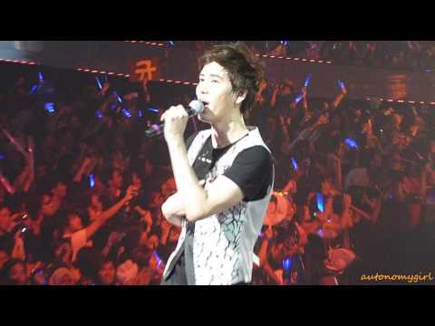 100320 Insanely Kyute Kyuhyun - Dancing Out Fancam SS2 KL