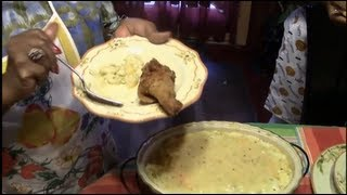 How to make Fried Chicken &  Mac n Cheese southern style