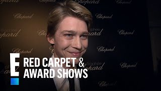 Joe Alwyn Receives Cannes 2018 Chopard Trophy | E! Live from the Red Carpet