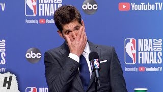 Bob Myers Gets EMOTIONAL Talking about Kevin Durant's Achilles Injury | 2019 NBA Finals