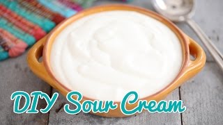 How to Make Sour Cream - Gemma's Bold Baking Basics Ep 21
