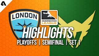 London Spitfire vs Los Angeles Valiant | Overwatch League Playoffs Highlights OWL Week 2 Match 1
