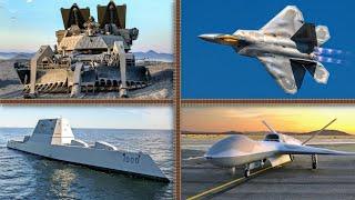 Los 10 Vehículos Militares más PODEROSOS de Estados Unidos 🇺🇲