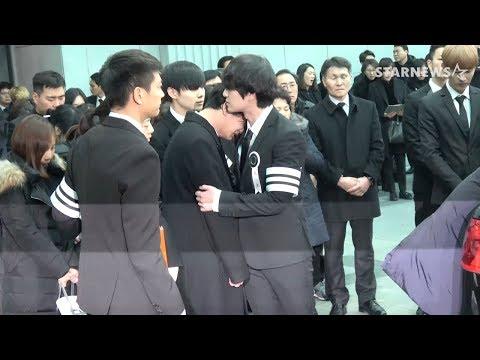 [SHINee 종현 발인] '온유' 멤버 죽음 앞 맏형 역할 다해..