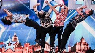 Dance act OK WorldWide are flipping AMAZING!   Britain's Got Talent 2015