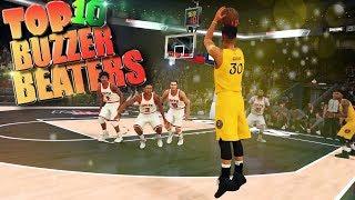Top 10 Amazing Buzzer Beaters & Comebacks - NBA 2K18 Highlights