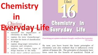 12th chemistry in Everyday life organic class 12 chapter 16 NCERT IIT JEE Mains NEET