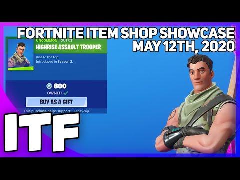 Fortnite Item Shop *RARE* HIGHRISE ASSAULT TROOPER IS BACK [May 12th, 2020] (Fortnite Battle Royale)