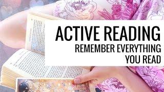 Active Reading // 3 Easy Methods