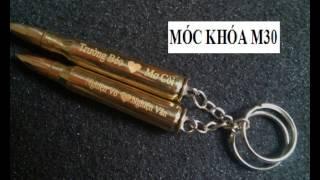 Móc khóa vỏ đạn | Bán móc khóa vỏ đạn khắc theo yêu cầu rẻ nhất đông dương