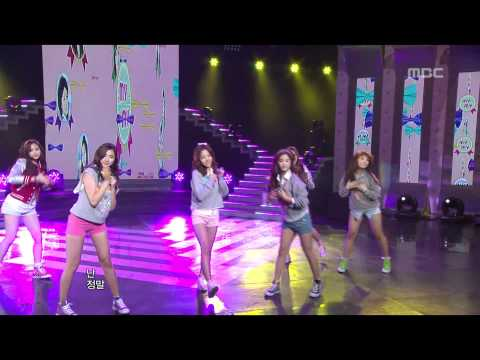 APINK - MY MY, 에이핑크 - 마이 마이, Music Core 20120121