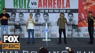 Undercard Press Conference | Ruiz vs Arreola | PBC ON FOX