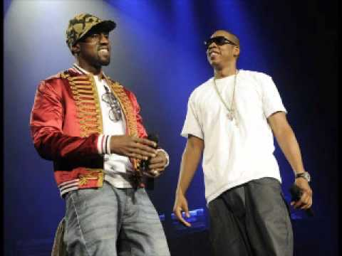 Jay-Z & Kanye West - Who Gon Stop Me - Watch The Throne