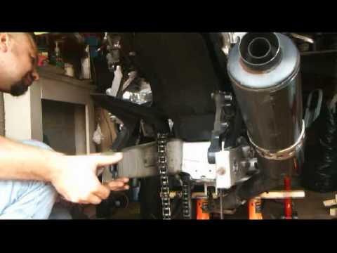 Yamaha Thundercat Rear Shock
