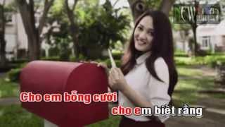 Karaoke] Và em đã biết mình yêu (Acoustic)   Bảo Anh [Beat]   http   newtitan net