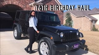 WHAT I GOT FOR MY 16TH BIRTHDAY