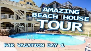 $3M BEACH HOUSE TOUR! (OUTER BANKS NORTH CAROLINA)