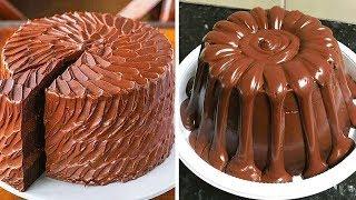 So Yummy Chocolate Cake Recipe | Most Satisfying Chocolate Cake Decorating Ideas | Top Yummy Cake