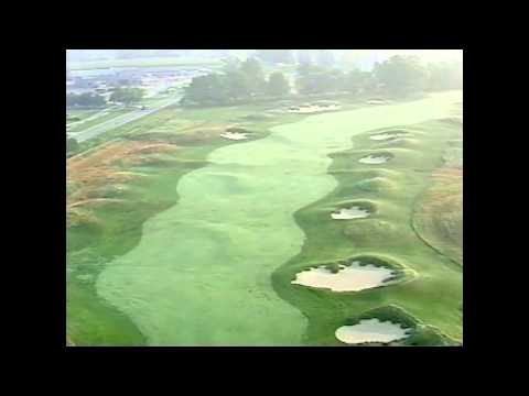Flyover of the 13th Hole