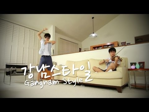 PSY - GANGNAM STYLE (강남스타일) - Jun Sung Ahn Dance & Violin Cover
