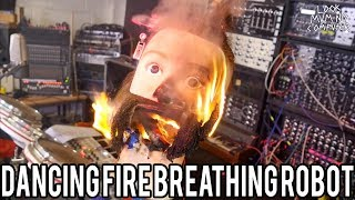 Dancing Fire Breathing Robot With James Bruton!