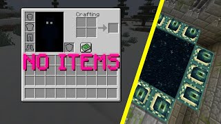 I beat minecraft with nothing
