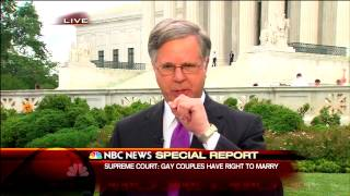 NBC News Special Report Open - Same-Sex Marriage Ruling - 10:01am 6/26/2015